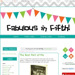 Fabulous in Fifth!: writing