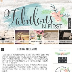 Fabulous in First: Fun on the Farm!