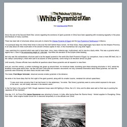 The Fabulous 1,000-Foot White Pyramid of Xian