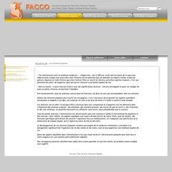 FACCO - 2. Les aliments préparés