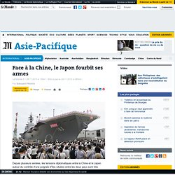 Face à la Chine, le Japon fourbit ses armes