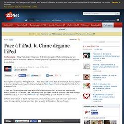 Face à l'iPad, la Chine dégaine l'iPed