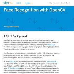 Face Recognition with OpenCV · objc.io