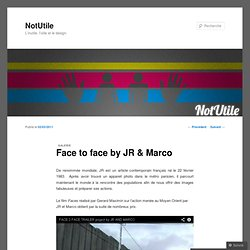 Face to face by JR & Marco