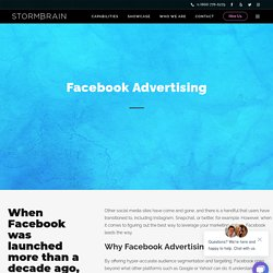 Prepare To Advertise On Facebook with Storm Brain Designs