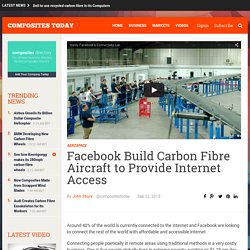 Facebook Build Carbon Fibre Aircraft to Provide Internet Access