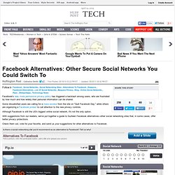 Facebook Alternatives: A Look At 9 Social Networks You Could Swi
