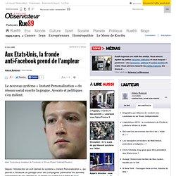 Aux Etats-Unis, la fronde anti-Facebook prend de l'ampleur