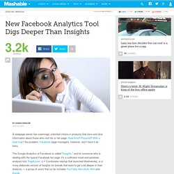 New Facebook Analytics Tool Digs Deeper Than Insights