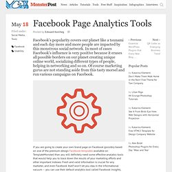 Facebook Page Analytics Tools