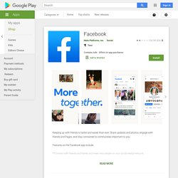 Facebook pour Android