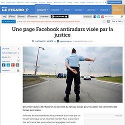 Une page Facebook antiradars visée par la justice