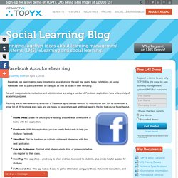Facebook Apps for eLearning - Interactyx