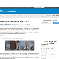 Facebook Arrives in Tanzania