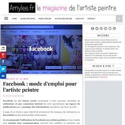 Facebook : mode d'emploi pour l'artiste peintre