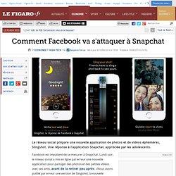 Comment Facebook va s'attaquer à Snapchat