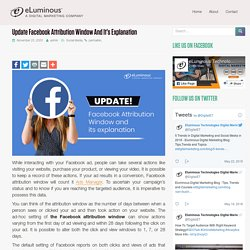 Change Your Facebook Attribution Window for Ad Results