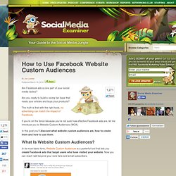 How to Use Facebook Website Custom Audiences