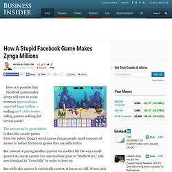 How Facebook Games Make Money