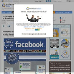 Facebook Cheat Sheet for Businesses