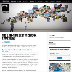 The 5 All-Time Best Facebook Campaigns