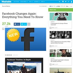Facebook Changes Again: Everything You Need To Know