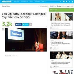 Fed Up with Facebook Changes? Try Friendio [VIDEO]