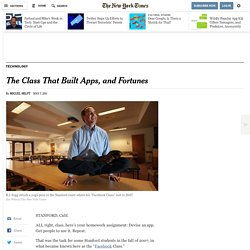 The 'Facebook Class' Built Apps, and Fortunes