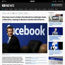 German court orders Facebook to redesign data collection, saying it abuses market dominance