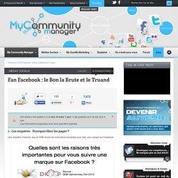 Fan Facebook : le Bon la Brute et le Truand