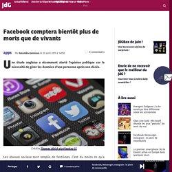 Facebook comptera bientôt plus de morts que de vivants