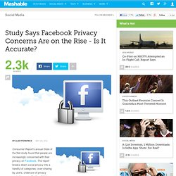 Study Says Facebook Privacy Concerns Are on the Rise - Is It Accurate? [STUDY]