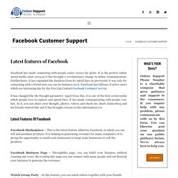 Facebook - Connecting People