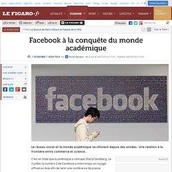 Facebook à la conquête du monde académique
