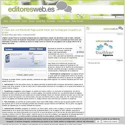 Editores Web: Creación de contenidos online y promoción en redes sociales