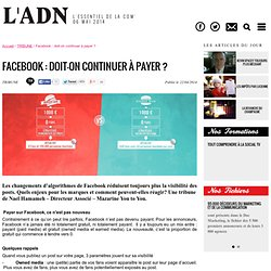 Facebook : doit-on continuer à payer ?