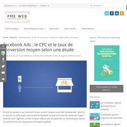 Facebook Ads : le CPC et le taux de conversion moyen selon une étude