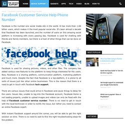 Facebook Customer Service Help Phone Number