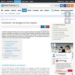 Facebook : les dangers et les risques