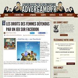 Un jeu vidéo sur Facebook pour défendre les droits des femmes