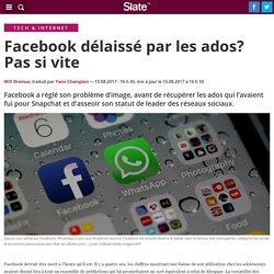 Facebook délaissé par les ados? Pas si vite