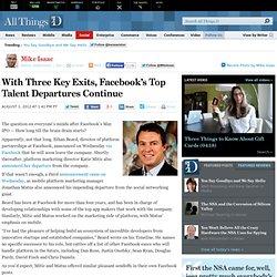 Facebook Platform Exec Ethan Beard Departs - Mike Isaac - Social