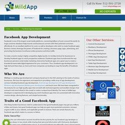 Facebook App Development Services