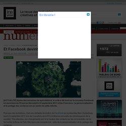 Numérique - Article - Et Facebook devint le Web