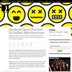 Facebook Opens The Door To Dislikes, With Emoticons