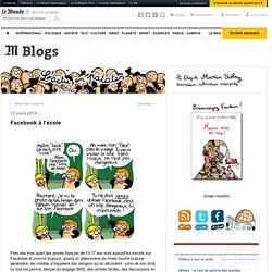 Facebook à l'école - L'actu en patates - Blog LeMonde.fr