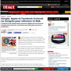 01/11/13 - Google, Apple et Facebook écrivent au Congrès pour réformer la NSA