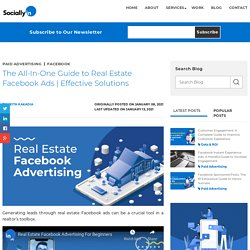 The All-In-One Guide to Real Estate Facebook Ads