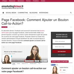 Page Facebook: Comment Ajouter un Bouton Call-to-Action?