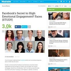 Facebook's Secret to High Emotional Engagement? Faces [STUDY]